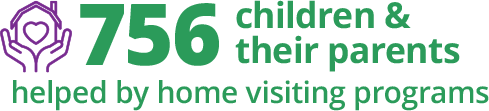 756 Children and Parents help by home visiting programs